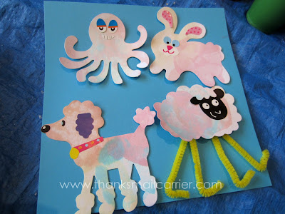 kids craft project