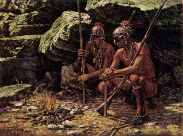 Iroquois war club