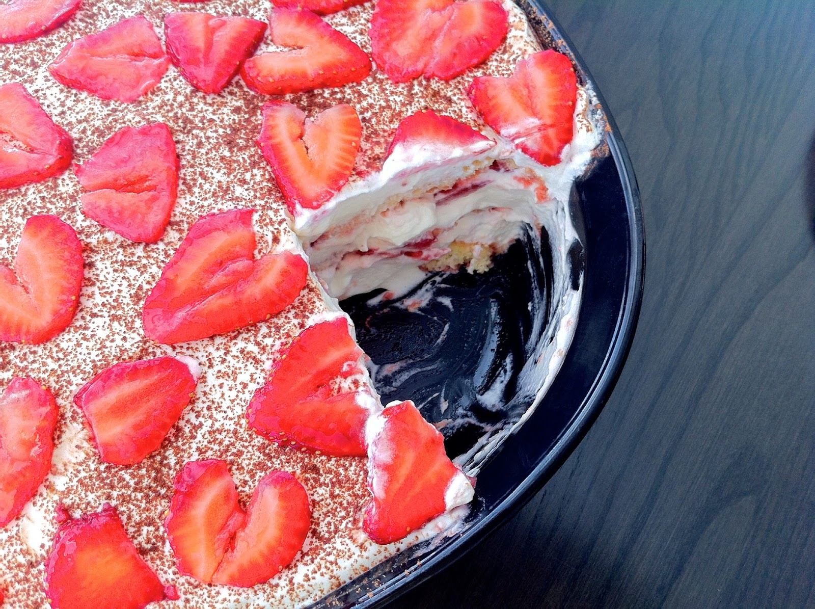Strawberry Tiramisu Zoom