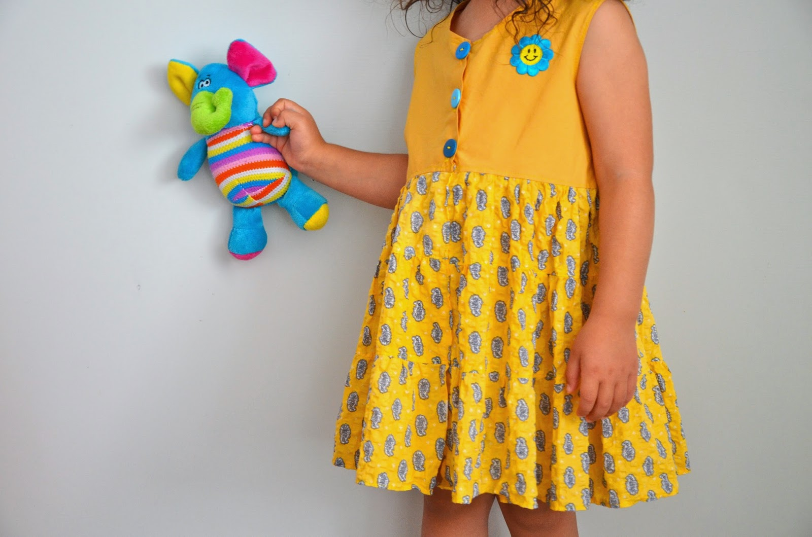 A twirly dress for a girl