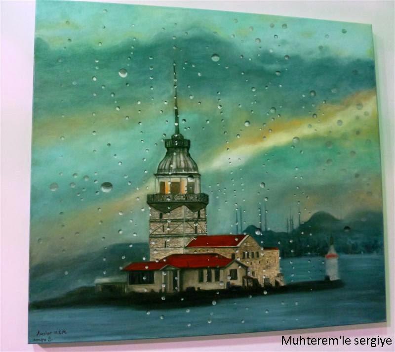 painting kiz kulesi