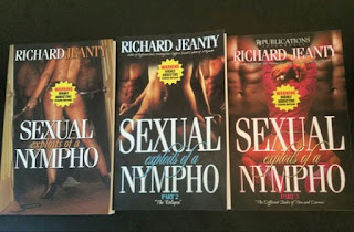 richard jeanty, sexual nympho, exploits of a nympho, nympho book