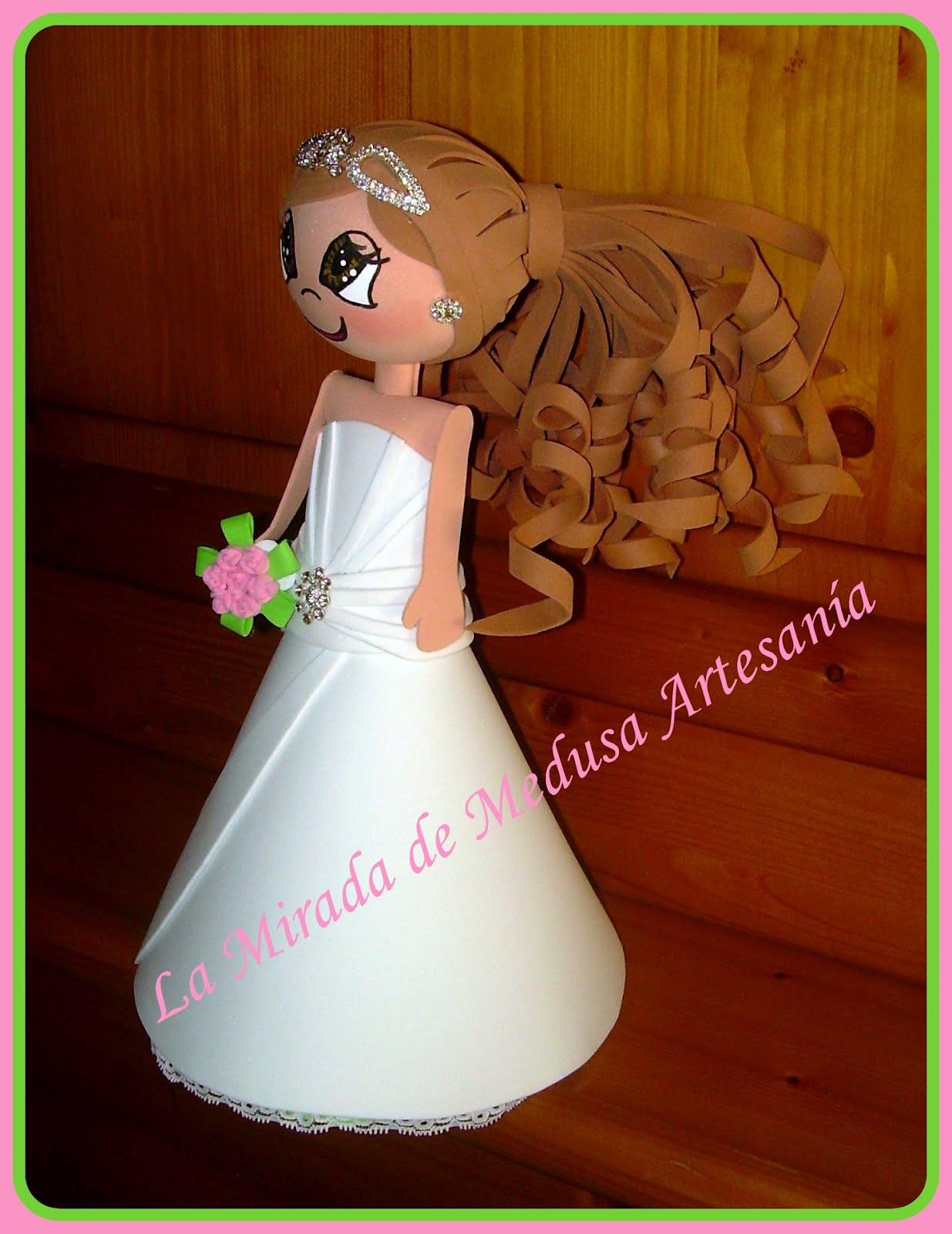 Patrones de vestidos de novia para fofuchas