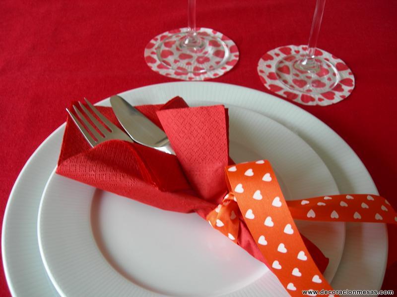 Decoracion de mesas ideas para san valentin - Decorar para san valentin ...