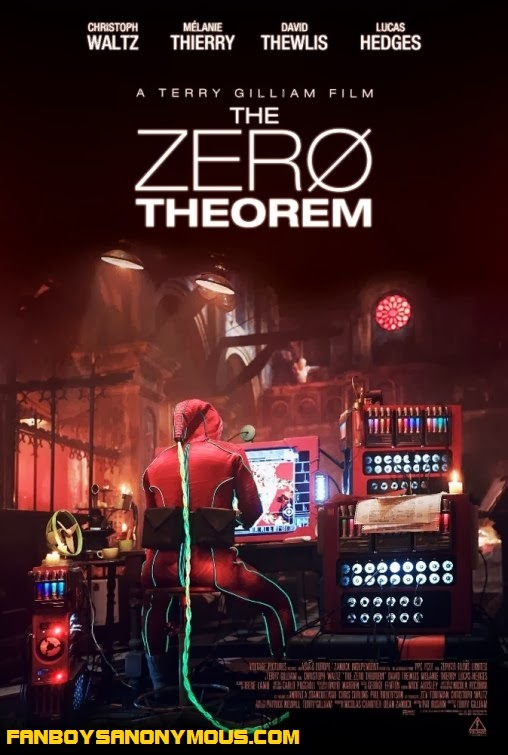Twelve Monkeys director Terry Gilliam Christoph Waltz surreal sci-fi fantasy the Zero Theorem