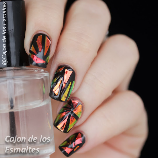 Uñas de vidrio roto - Glass nails