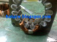 cara memasang gulungan utama di kern