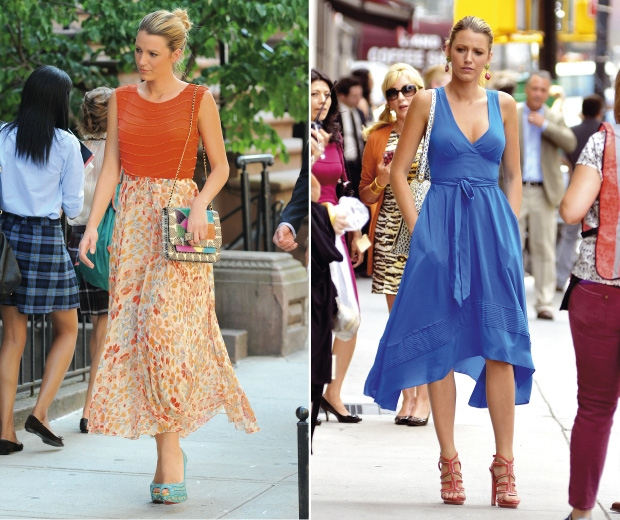 Gossip girl is coming back and we have some sneak peaks at the fashion