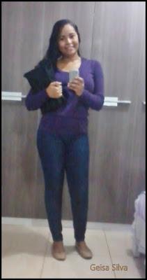 Look do dia básico: Faculdade, blusa de frio e jeans