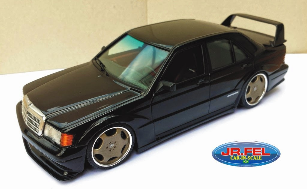 Mercedes Bens - 190E - kit Fujimi