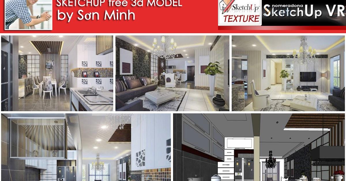 SKETCHUP TEXTURE SKETCHUP FREE 3D MODEL INTERIOR HOME