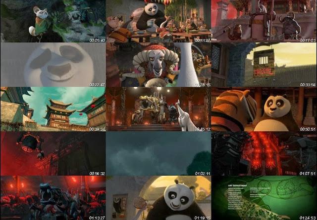 Kung Fu Panda 2 DVDRip Latino