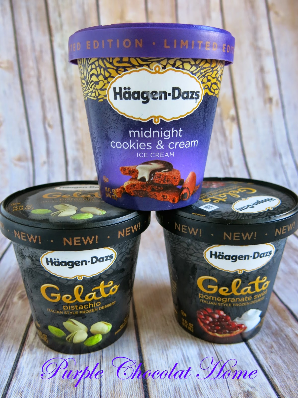 haagen-dazs has new flavors and i get to try them!  pistachio gelato cookie cups with pistachio brittle