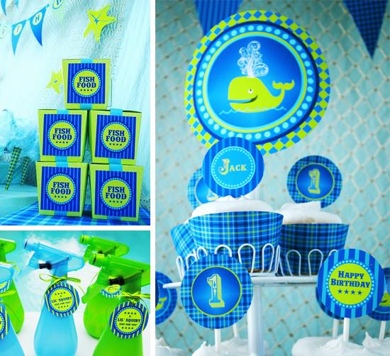Decoraci n de fiesta infantil en la playa y piscina para ni os arcos con globos decoraci n - Decoracion fiestas infantiles para ninos ...