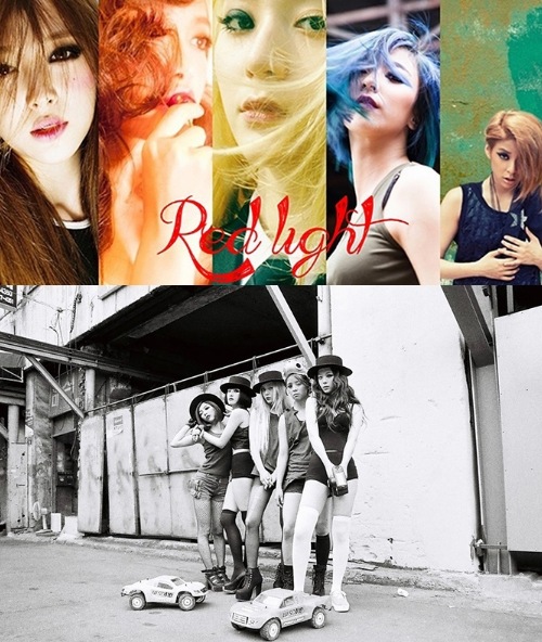 F(X) - The 3rd Album (Red Light) B Type