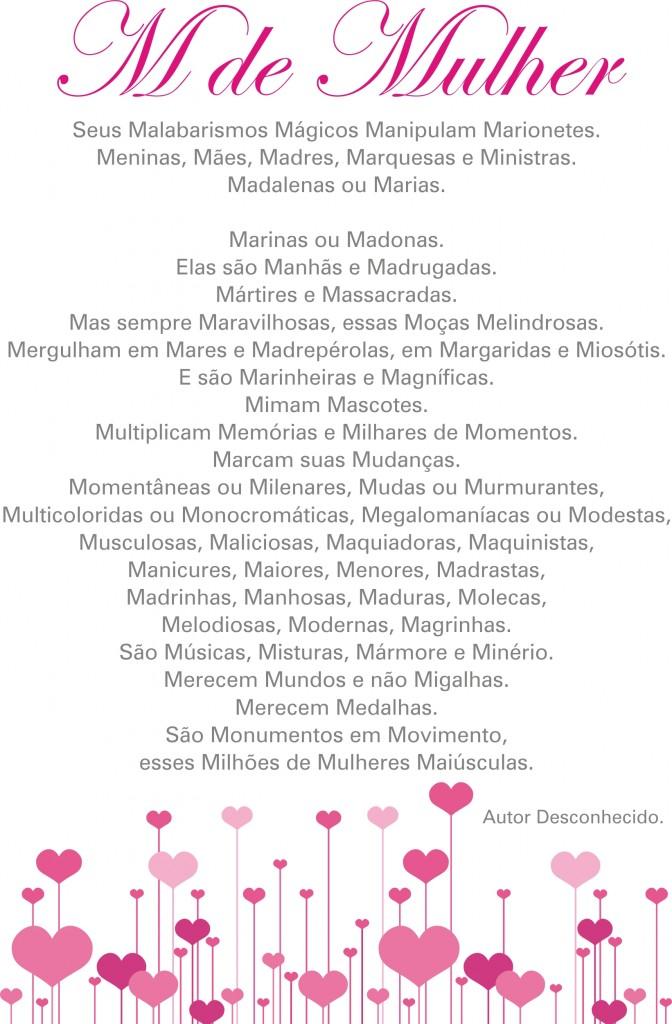 Poemas sobre mulher, a beleza em versos! - Mensagens Com