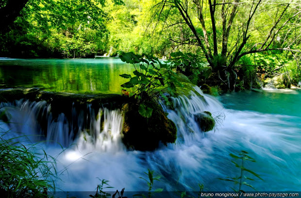 beautiful nature waterfalls rivers