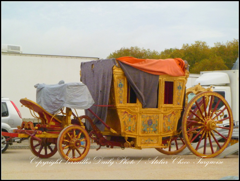 Carriage Versailles TV series Canal+