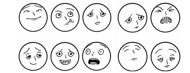 Dibujos gestos - Imagui