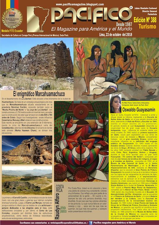 Revista Pacifico N° 388 Turismo