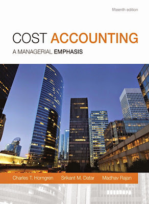 Cost Accounting (15th Edition) - Free Ebook Download