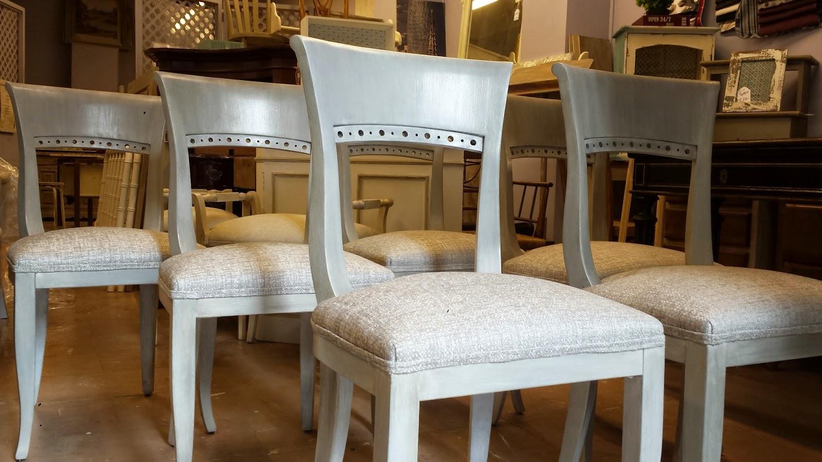 Candini muebles pintados nuevos y redecorados sillas - Sillas restauradas ...