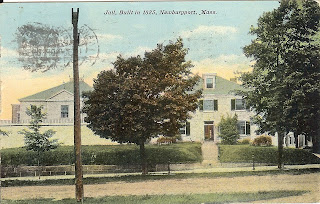 Old Newburyport Jail Postcard front