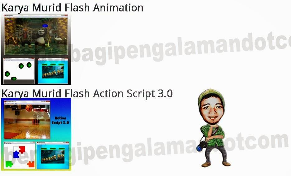 Karya Murid Flash Animasi di DUMET School