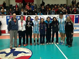 Finalizó el Sudamericano de Cadetas | Mundo Handball