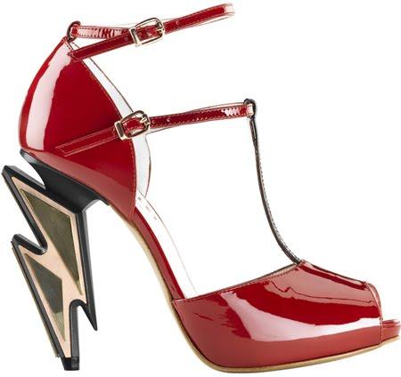 zapatos colección primavera verano 2012 Vaudelet Fosco