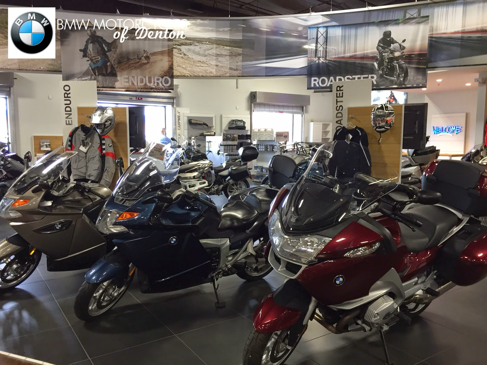 BMW Motorcycles of Denton: We are DFW's newest BMW Motorrad