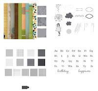 Sunset Serenade Collage Bundle digital download by Stampin' Up!