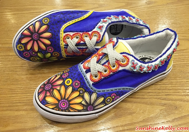 CHeeKS, Arts on Your Feet, Casual Couture Shoes, Couture Shoes, Hand Painted Shoes