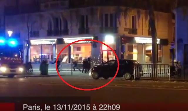 VIDÉO - La police se fait tirer dessus par les terroristes