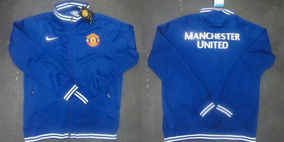Jaket Manchester United Biru