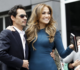 Jennifer Lopez with Husband
