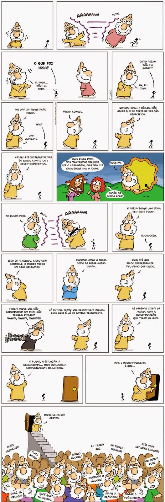 http://www.umsabadoqualquer.com/1356-as-mil-interpretacoes-biblicas/
