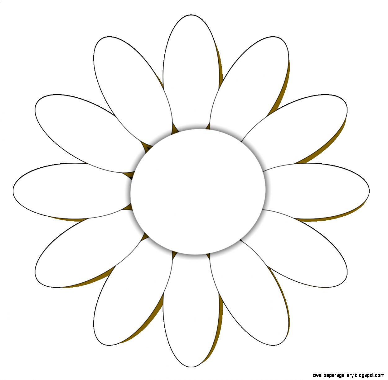 Daisy Pictures Black And White   ClipArt Best