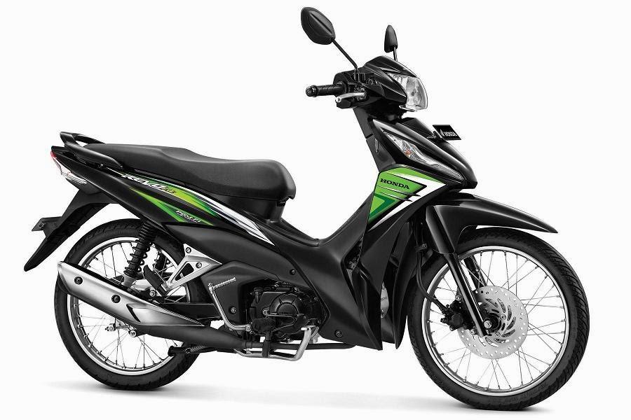 Warna Honda Revo Fit PGM-FI hijau