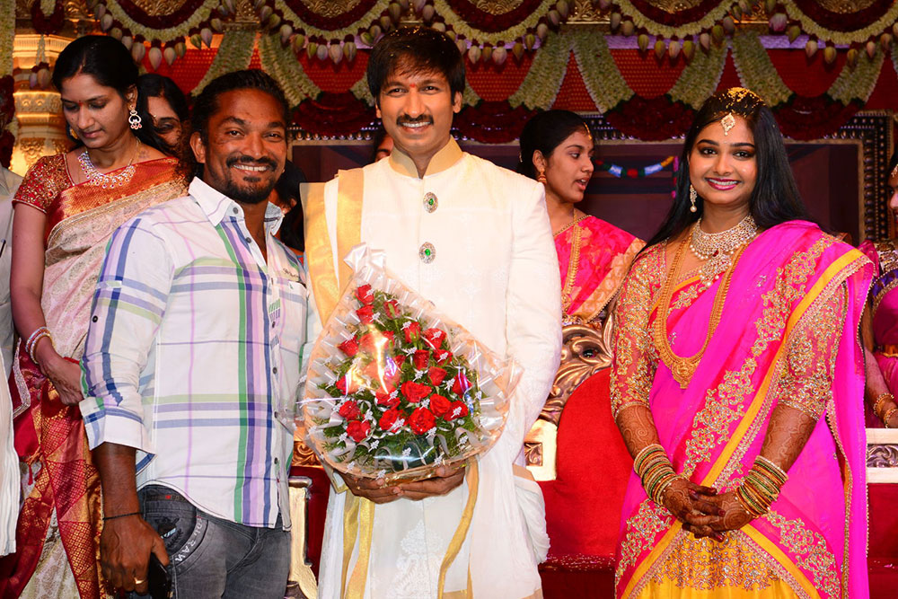 Gopichand Marriage Photos-HQ-Photo-16