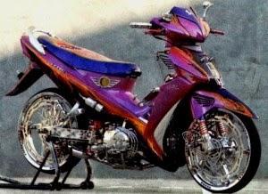 ide modifikasi motor 125