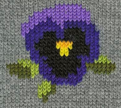 Duplicate Stitch Patterns For Knitting : ??????????????: ??????? ?? ?????? /Embroidery on knitting
