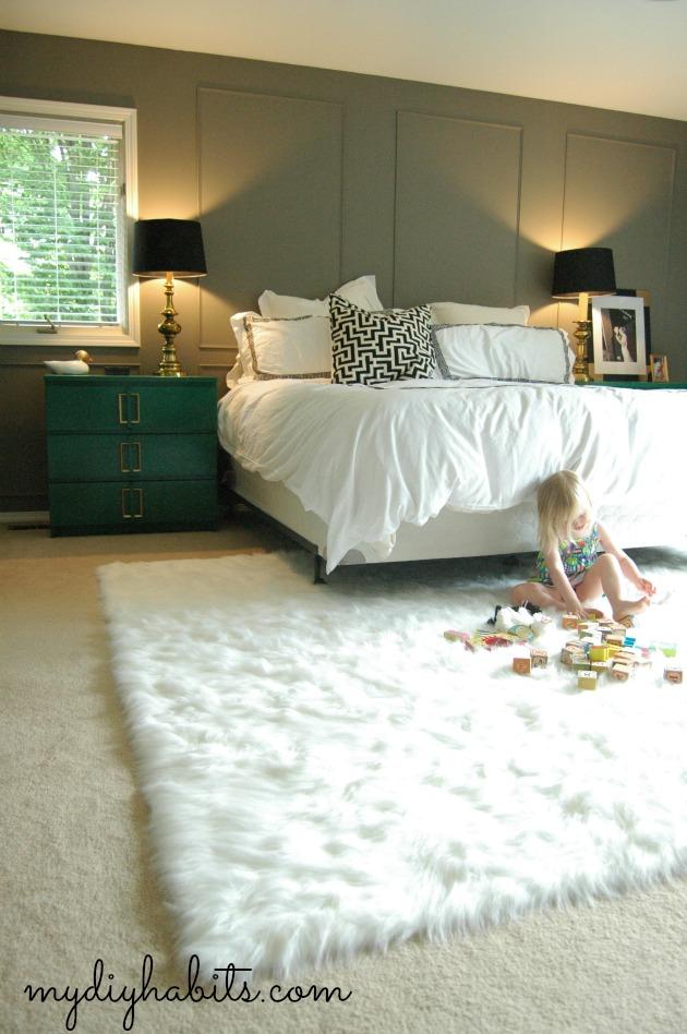 Master Bedroom Rug    Switcharoo. my DIY habits  Master Bedroom Rug    Switcharoo