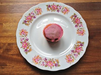 Clementine orange cupcake