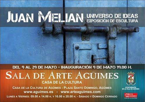 Exposición de Juan Melián en la Sala de Arte Agüimes