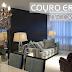 Couro croco na decoração - veja ambientes lindos decorados e dicas!