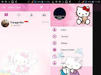 [BBM MOD] Hello Kitty V.2.10.0.35 (CLONE) By Trangga Ken