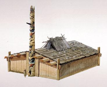 Vancouver island big trees haida cedar plank longhouses for Longhouse birdhouse