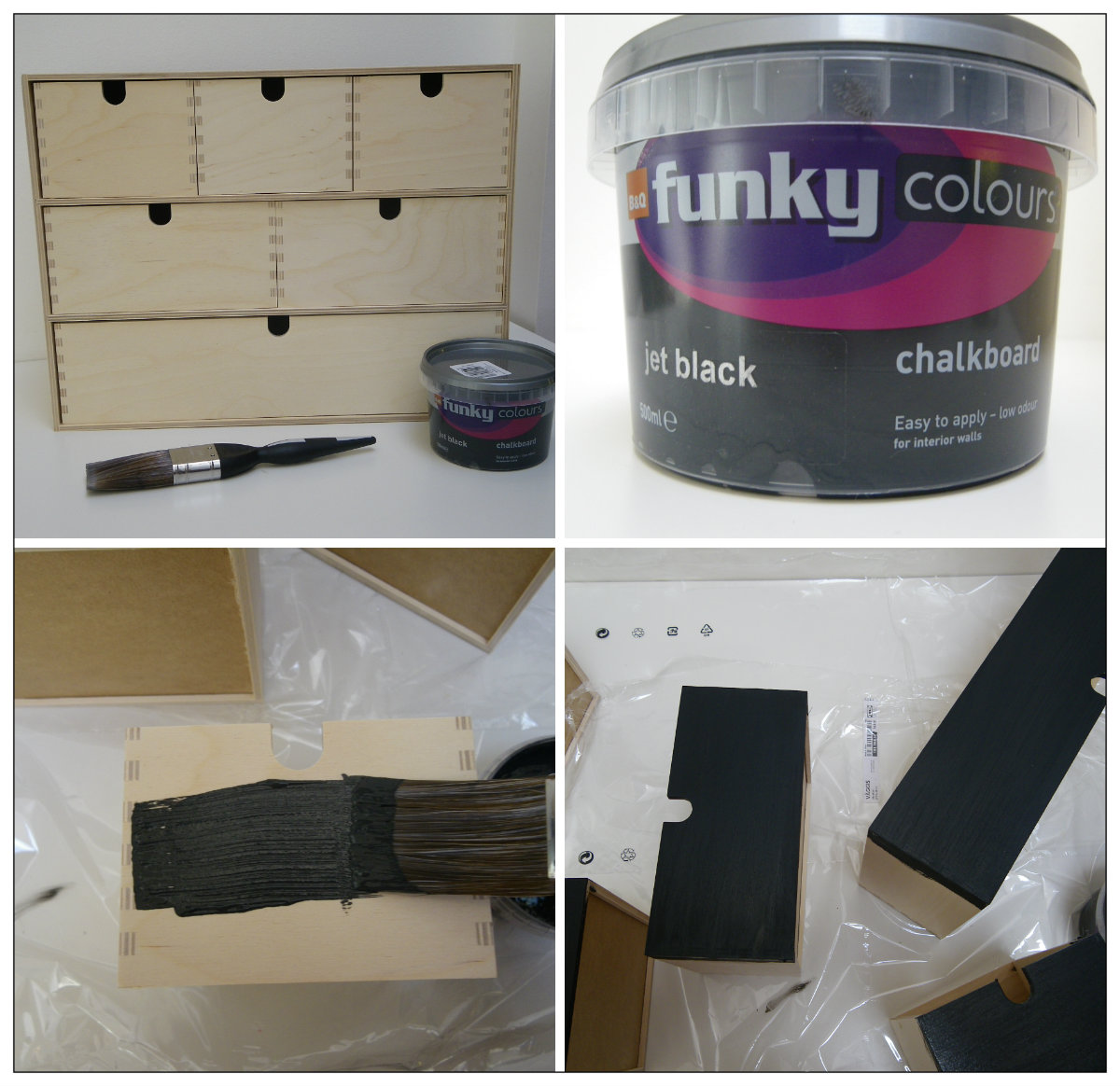Leather jacket killer b&q - 1 Prepare Drawers Sand Paper The Drawers If They Have Been Treated Painted Or Vanished To Ensure The Paint Will Stick And So You Have A Smooth Surface To