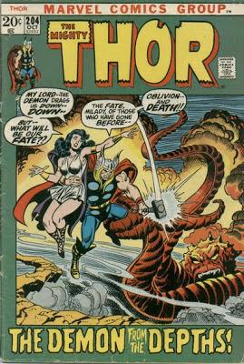 Thor #204, Sif